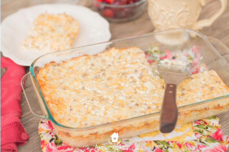 Absolutely Delicious Breakfast Casserole - 35 Creative Potluck Themes