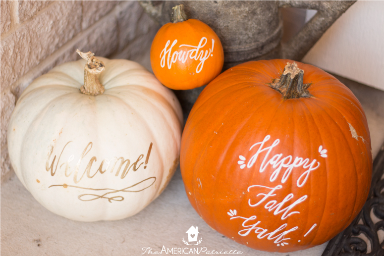 How to Decorate Pumpkins with Perfect Hand Lettering