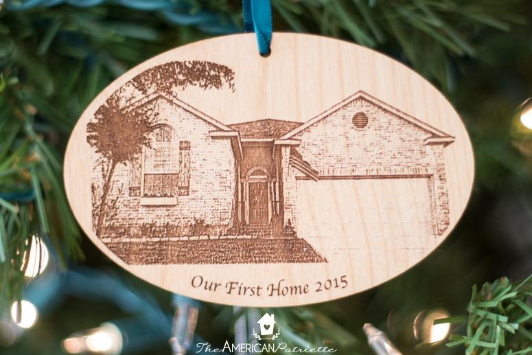 diy home state felt christmas ornament