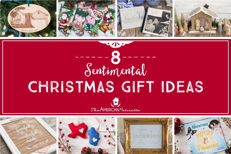 Eight Sentimental Christmas Gift Ideas
