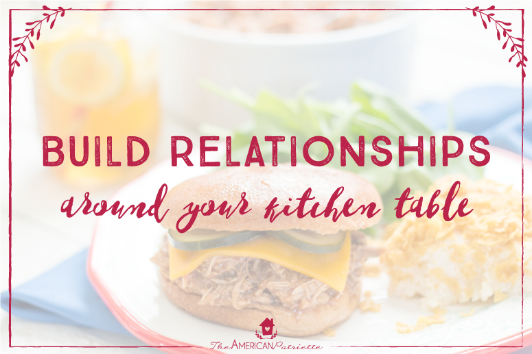 Family Discipleship Dinners - 12 months of themed dinnertime conversations + recipes + Scripture of the month