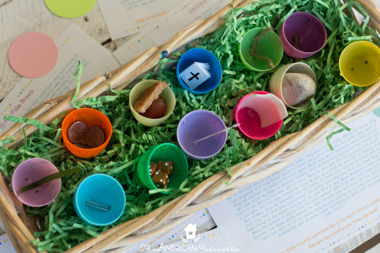 image about Resurrection Eggs Printable titled Spouse and children Easter Recreation with Do it yourself Resurrection Eggs + Totally free
