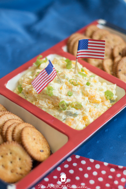Firecrackers with Cream Cheese Mango Jalapeno Dip