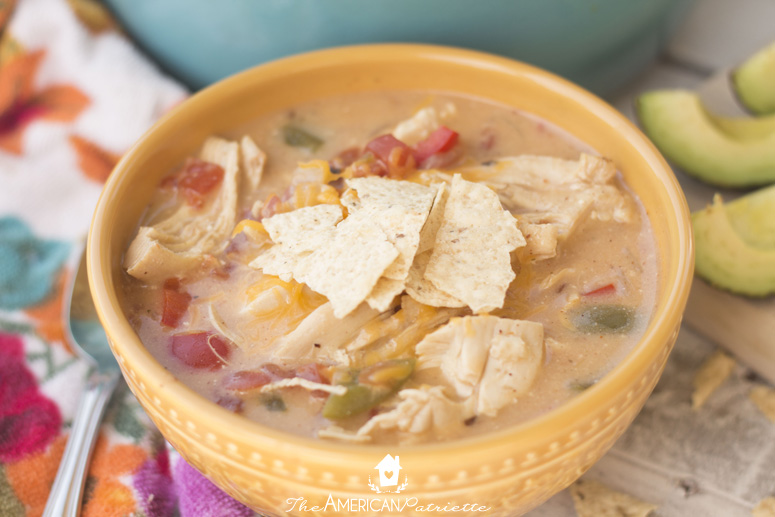 Slow Cooker King Ranch Chicken Soup - A Delicious Twist on the Classic Casserole