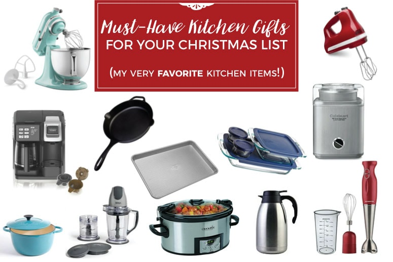 Must Have Kitchen Gifts For Your Christmas List   Gift Guide For The One  Who Loves