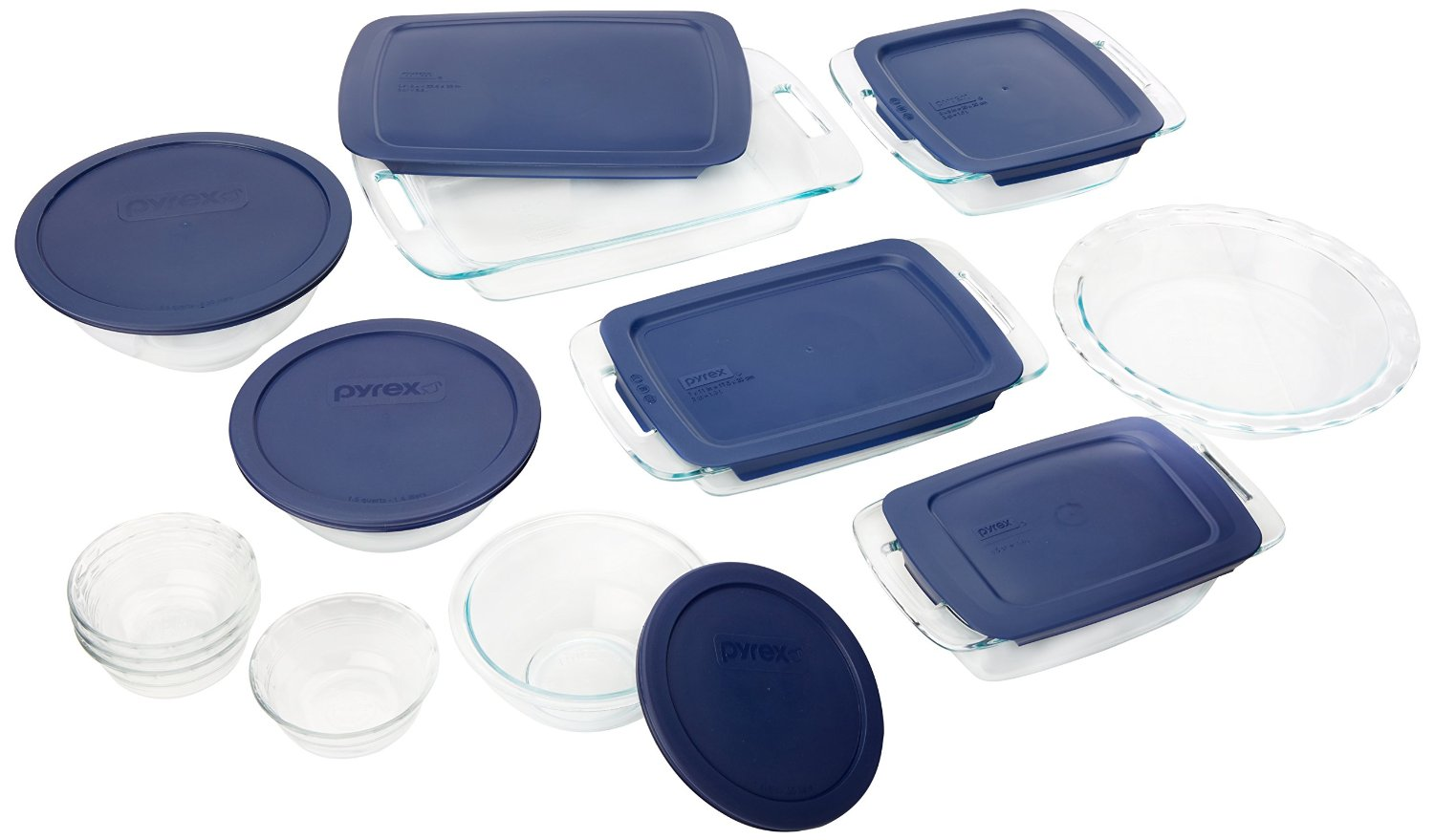 Pyrex Baking Dishes with Lids
