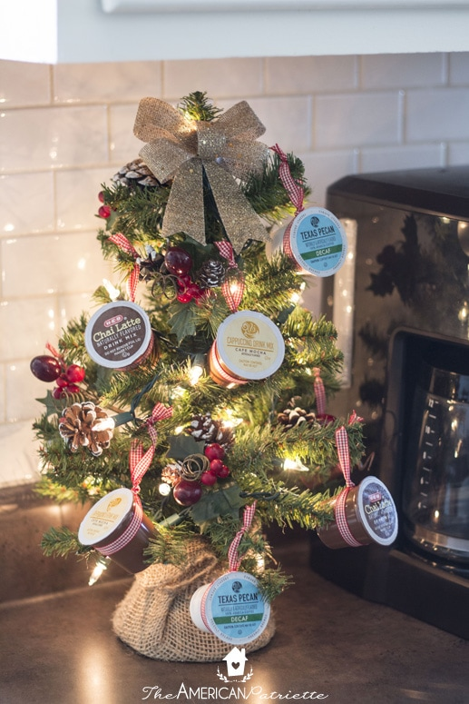How To Make A K Cup Coffee Christmas Tree Perfect Holiday Decorating Idea For