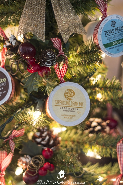 How to Make a K-Cup Coffee Christmas Tree - Perfect holiday decorating idea for coffee-lovers!