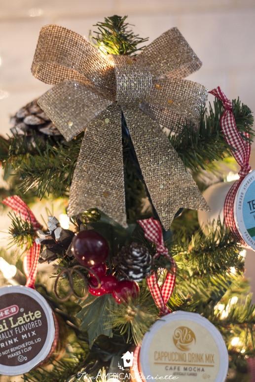 Coffee Christmas Tree.How To Make A K Cup Coffee Christmas Tree The American