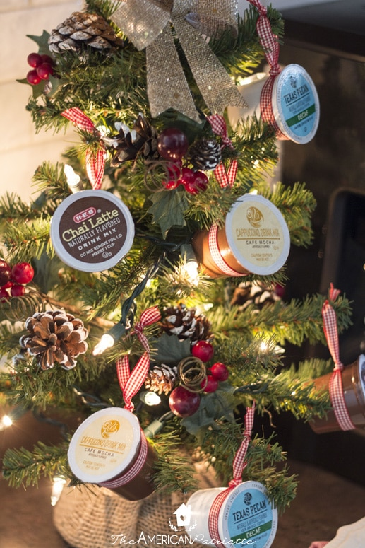 Coffee Christmas Ornaments.How To Make A K Cup Coffee Christmas Tree The American