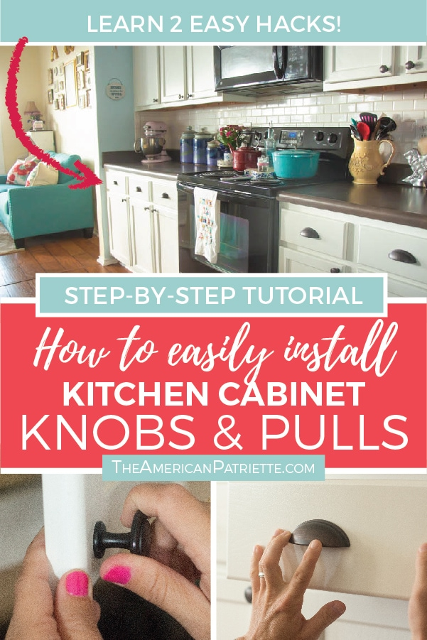 how to easily install kitchen cabinet hardware the american patriette