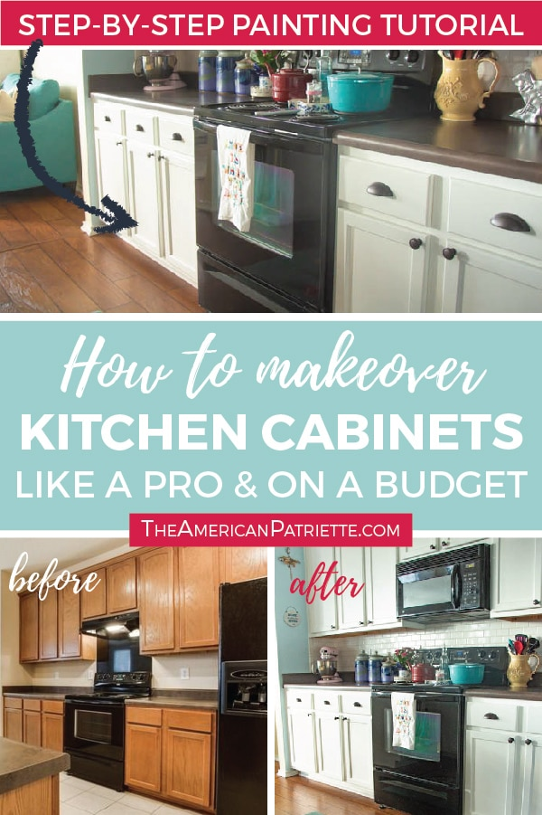 Step-by-Step How to Paint Kitchen Cabinets Like a Pro (and on a ...