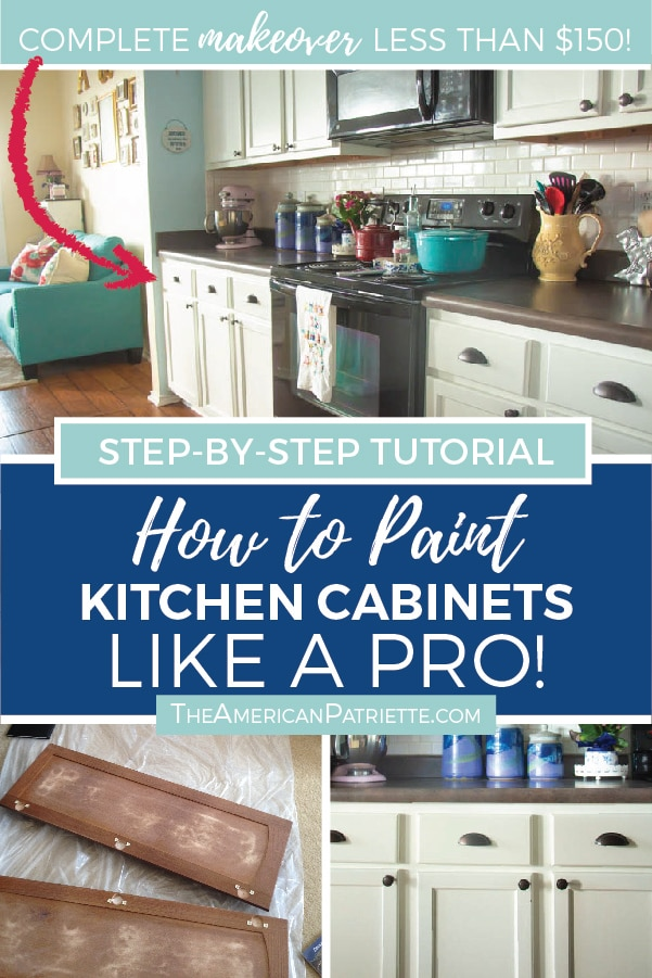 Paint Kitchen Cabinets, How To Paint Kitchen Cabinets White Professionally