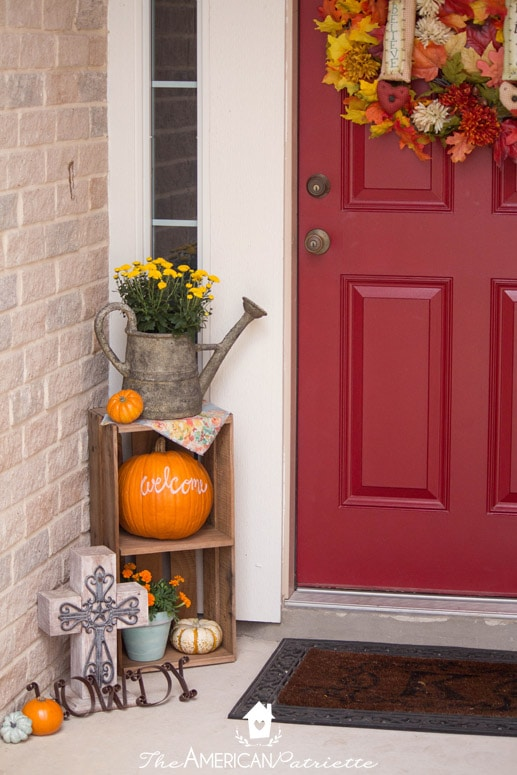 Ideas For Decorating A Small Front Porch For Fall The